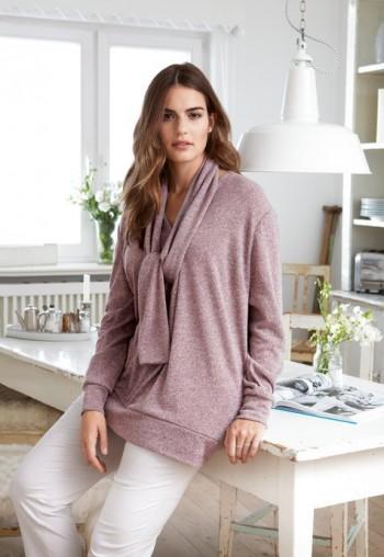 Burda Style | Scarf Sweatshirt (Plus Size) 11/2014#123
