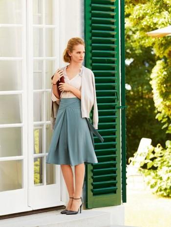 Burda Style | Wrap Yoke Skirt 11/2014#112