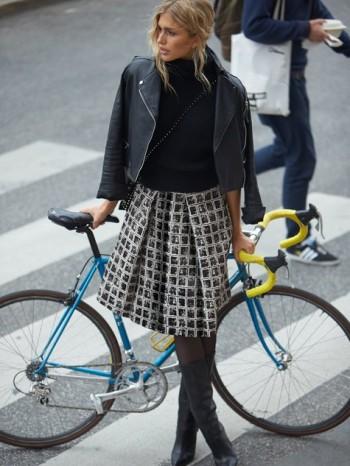 Burda Style   Pleated Midi Skirt 11/2014#115