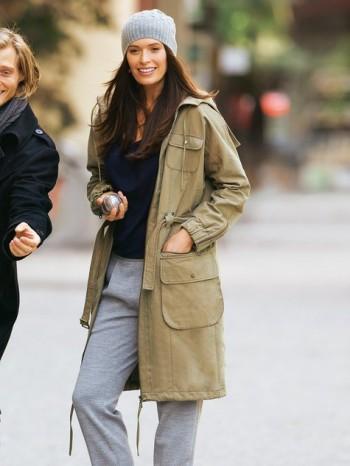 Burda Style | Sporty Hooded Jacket (Plus Size) 11/2011#133