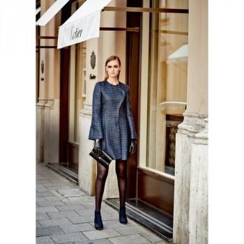 Burda Style | Long Blazer Style Dress (Petite-Size) 12/2014#118