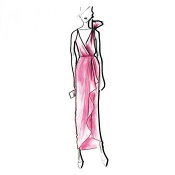 Burda Style | Designer Cascade Dress 05/2011#157