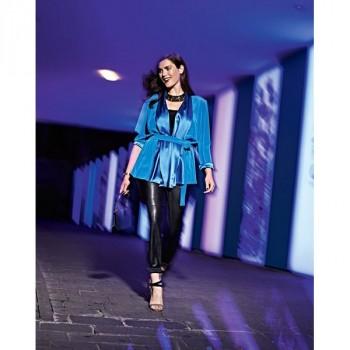 Burda Style | Satin Jacket (Plus Size) 12/2014 #137A