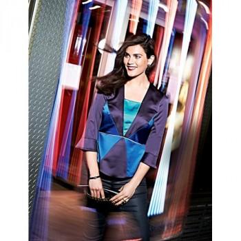 Burda Style | Contrast Paneled Blouse (Plus Size) 12/2014#142