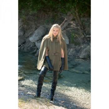 Burda Style | Belted Cape 12/2014#120