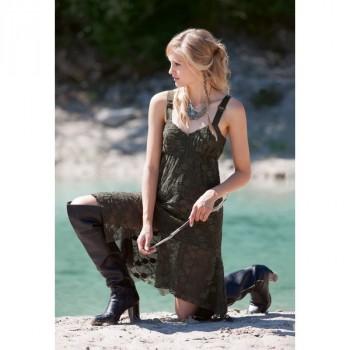 Burda Style | Lace Tank Dress 12/2014#125