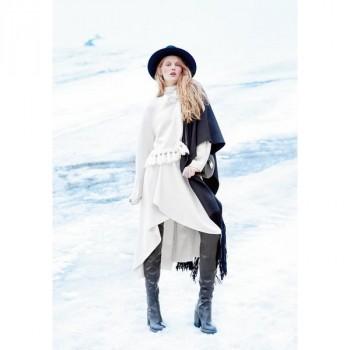 Burda Style | Asymmetrical Mullet Wrap Skirt 01/2015#108A