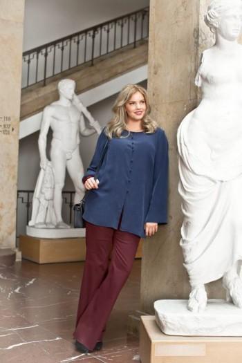 Burda Style | Bootcut Trousers (Plus Size) 02/2015#136