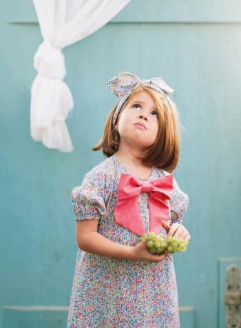 Burda Style | Girl's A-line Dress 03/2015 #138
