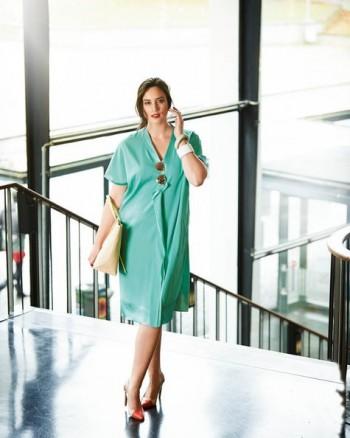 Burda Style | Shirt Dress (Plus Size) 03/2015 #131