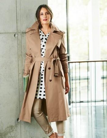 Burda Style | Classic Trench Coat (Plus Size) 03/2015 #128
