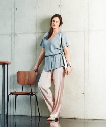 Burda Style | Pajama Style Trousers (Plus Size) 03/2015 #132