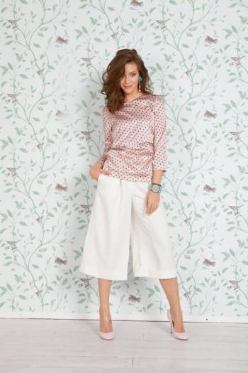 Burda Style | Double Layered Shirt 04/2015 #101A