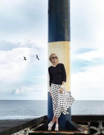 Burda Style | Polka Dot Skirt 04/2015 #125A