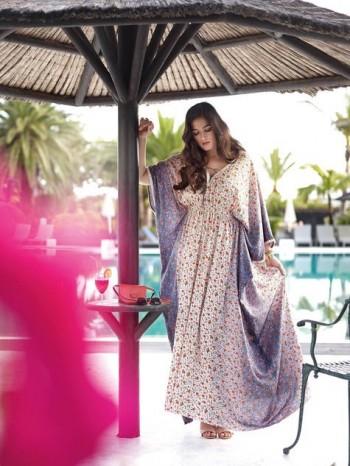Burda Style | Boho Maxi Dress (Plus Size) 04/2015#130B