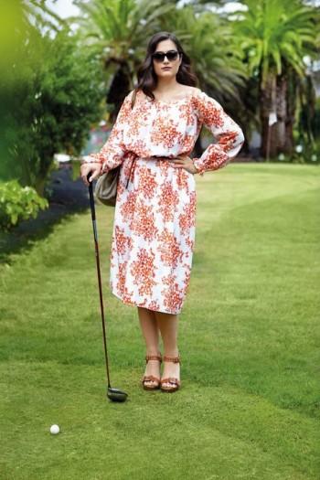 Burda Style | Carmen Dress (Plus Size) 04/2015 #131