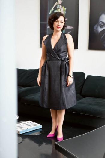 Burda Style | Wrap Dress with Lapel Neck 04/2015 #120
