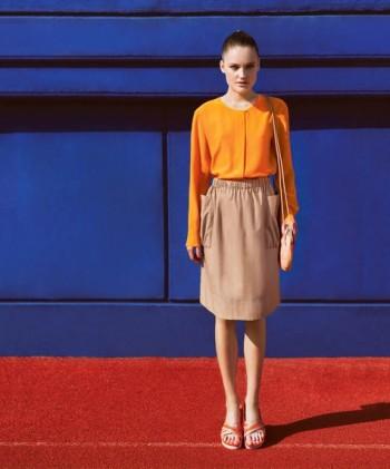 Burda Style   Skirt with Bag Pockets 04/2015 #127