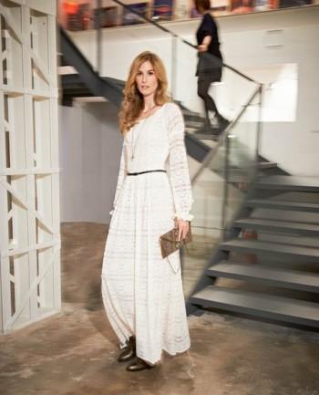 Burda Style | Lace Maxi Dress 05/2015 #105