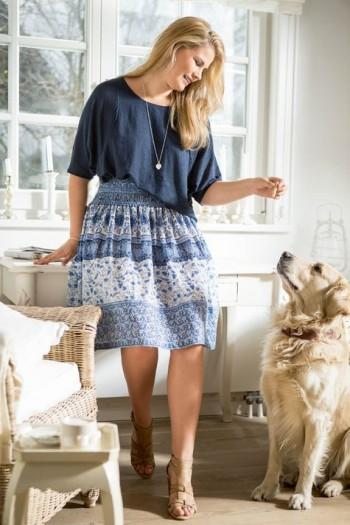 Burda Style | Raglan Sleeve Shirt (Plus Size) 05/2015 #129A