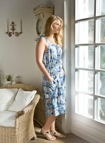 Burda Style | Sundress with Pockets (Plus Size) 05/2015 #132