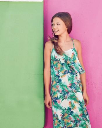 Burda Style | Girl's Maxi Dress 06/2015 #133