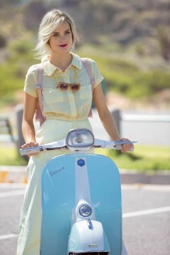 Burda Style | Retro Peplum Shirt 06/2015 #109
