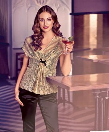 Burda Style | Lace Blouse 06/2015 #120A