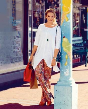 Burda Style | Split Tunic (Plus Size) 07/2015 #127