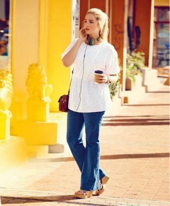 Burda Style | Denim Trousers (Plus Size) 07/2015 #130A