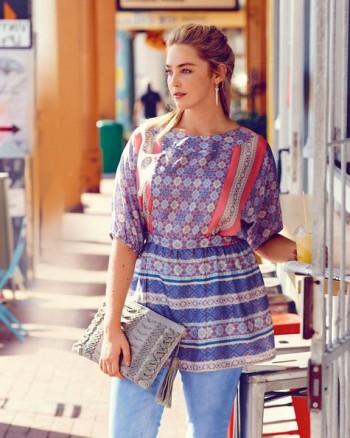Burda Style | Peplum Blouse (Plus Size) 07/2015 #131