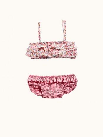 Burda Style | Girl's Ruffle Bikini 07/2015 #135