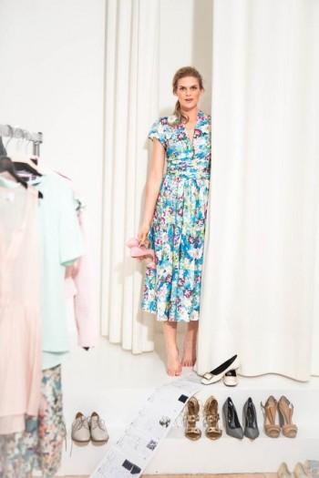 Burda Style | Midi Dress 07/2015 #110