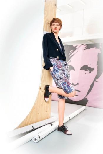 Burda Style | Cropped Blazer 07/2015 #124