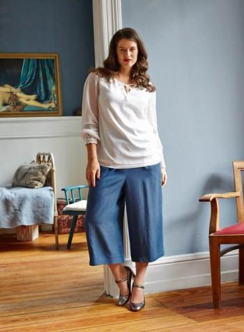 Burda Style | Culottes (Plus Size) 08/2015 #131