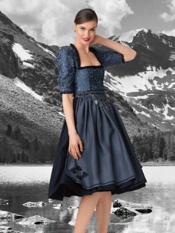 Burda Style | Puffed Sleeve Dirndl Dress 09/2015 #124