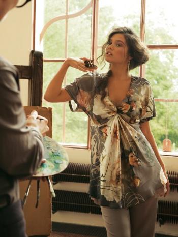 Burda Style | Kimono Tunic (Plus Size) 01/2012#130