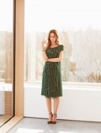 Burda Style | Ruffle Dress 08/2015 #114