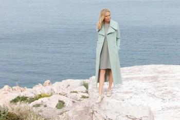 Burda Style | Mint Trench Coat 09/2015 #105