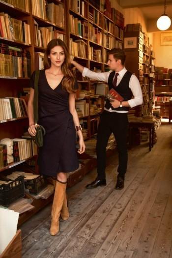 Burda Style | Short Sleeve Wrap Effect Dress 09/2015 #107