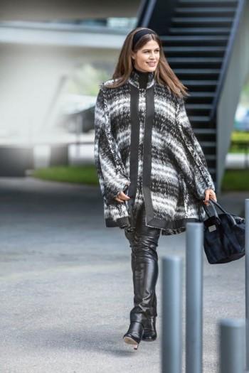 Burda Style | Cape Jacket (Plus Size) 09/2015 #131