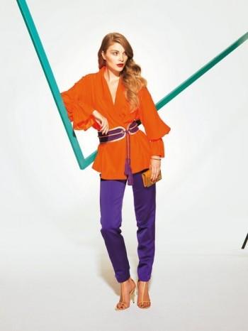 Burda Style | Shawl Collar Jacket 02/2012#105