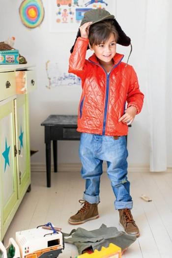 Burda Style | Kid's Quilted Jacket 10/2015#134