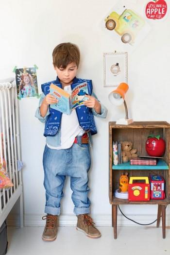 Burda Style | Boy's Baggy Jeans 10/2015#135