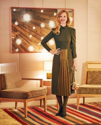 Burda Style | Pleated Skirt Dress 10/2015#116