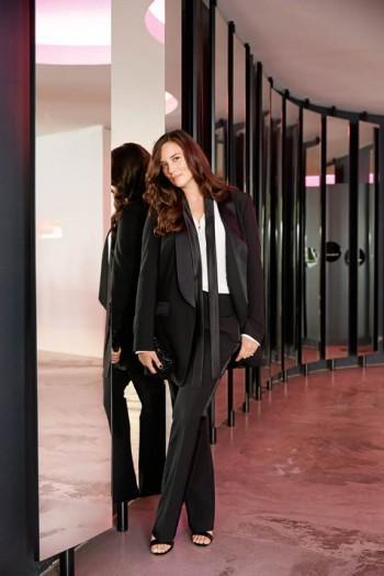 Burda Style | Long Tuxedo Jacket (Plus Size) 10/2015#126