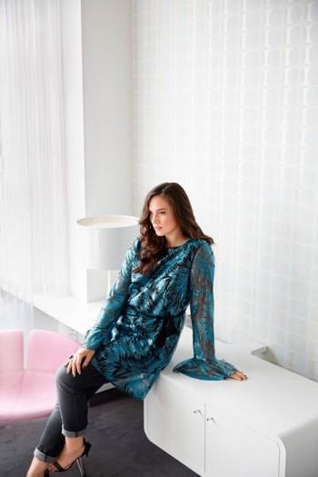 Burda Style | Bell Sleeve Tunic (Plus Size) 10/2015#129
