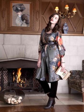 Burda Style | Silk Coat (Plus Size) 11/2010#137