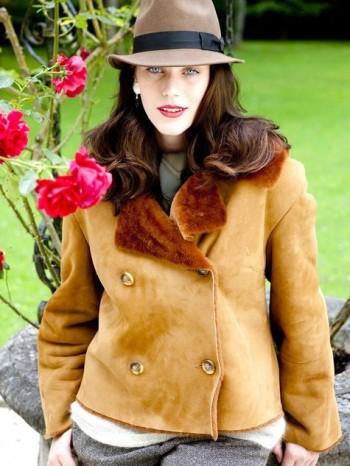 Burda Style | Fur Collar Jacket (Plus Size) 11/2010#138