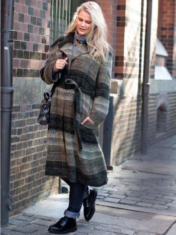 Burda Style | Belted Coat (Plus Size) 11/2015#123